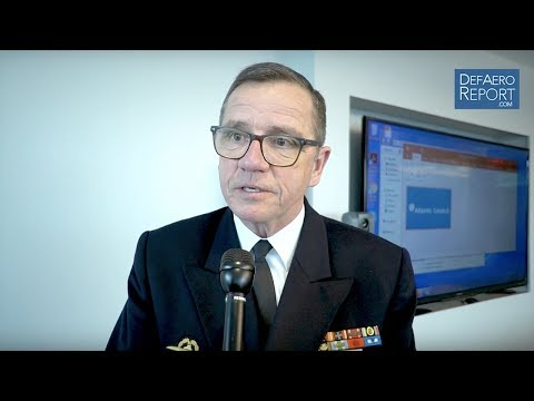 German Navy Chief on NATO's Atlantic Command, Baltic Security, Russia, Readiness, Modernization
