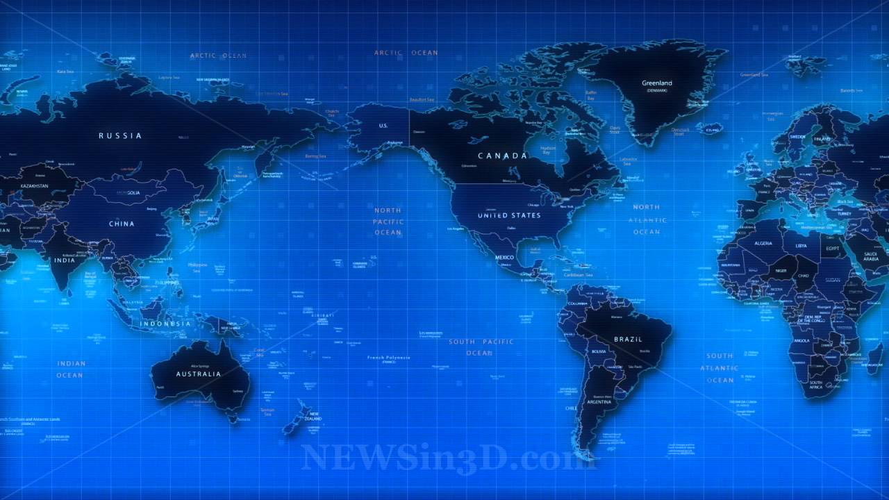 World Map Animated Background YouTube