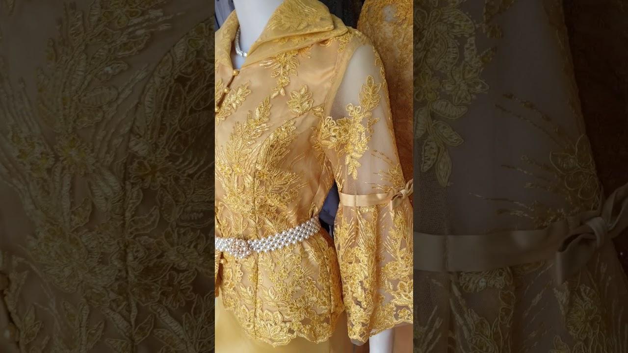 ชุดลูกไม้แม่เจ้าสาวสีทองงานตัดหลักหมื่นจัดโปรโมชั่นเป็นของขวัญรับปีใหม่รีบสั่งซื้อนะคะ 095 376 6659