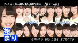 NMB48応援動画。 2017年新チーム体制になったNMB48。 この動画は2014~20...