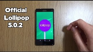 Sony Xperia Z3 Compact Official Lollipop 5.0.2 - Review!