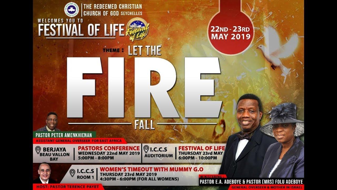 RCCG 2019 FESTIVAL OF LIFE SEYCHELLES