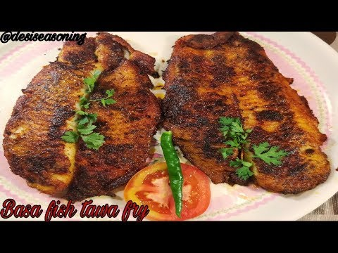 Best Starter Recipe Ever/Basa Fish Tawa Fry/Fish Tawa Fry-बासा फिश तवा फ्राई