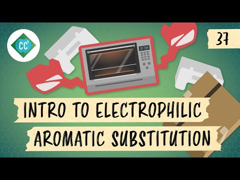 Intro to Electrophilic Aromatic Substitution: Crash Course Organic Chemistry #37