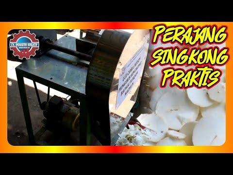 Mesin Perajang Keripik Ketela/Singkong Murah