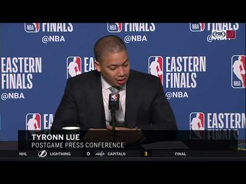Tyronn Lue can't remember Kyle Korver's real age | CAVS-CELTICS | NBA PLAYOFFS