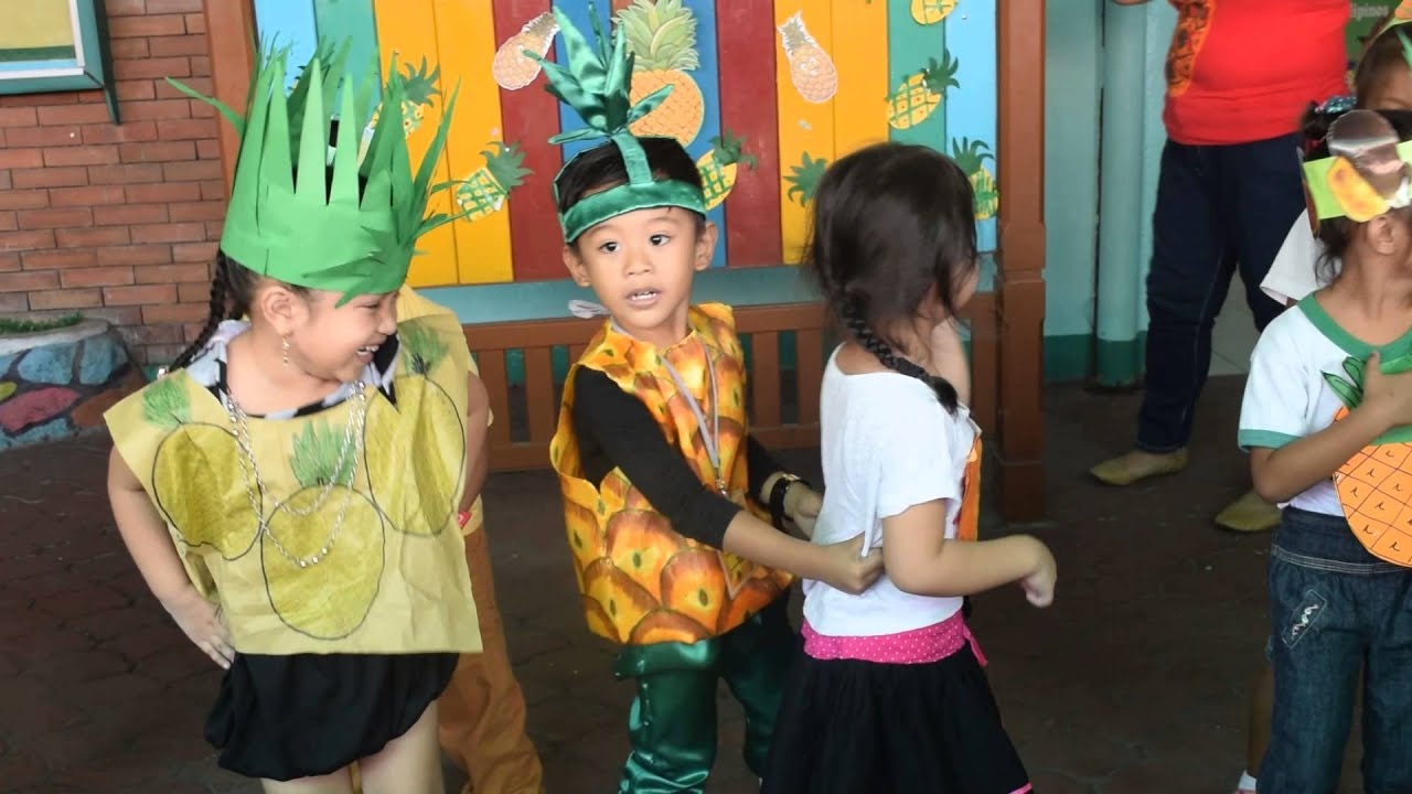 Diy pineapple costume abc learning center nutrition month youtube solutioingenieria
