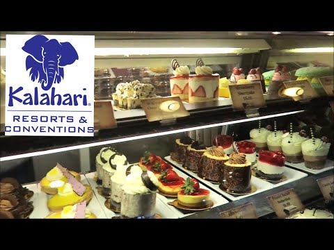 kalahari-resorts-at-sanduski,-ohio-  -shopping-center-&-dining/desserts-area-tour