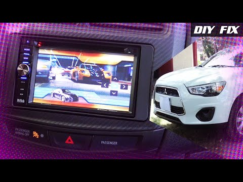 DIY Fix | Install Boss BV960NV Double DIN SWC 2015 Outlander Sport