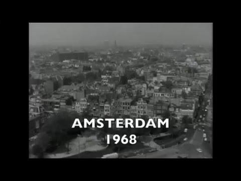 1968: Nieuwbouw De Nederlandsche Bank (DNB) in Amsterdam aan het Frederiksplein - oude filmbeelden