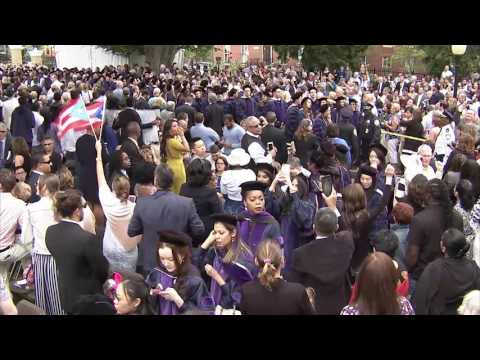 2017 Georgetown Law Commencement Ceremony