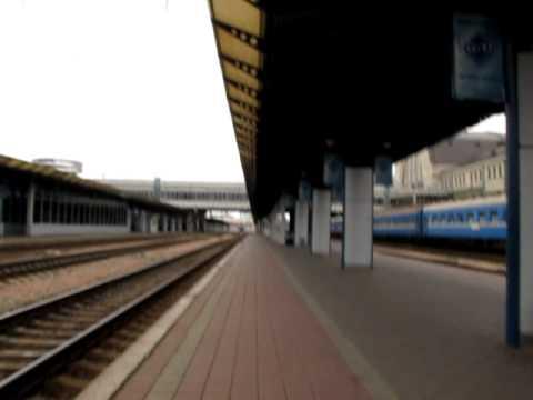 Киевский вокзал. Автоинформатор поезд 123 Киев-Одесса