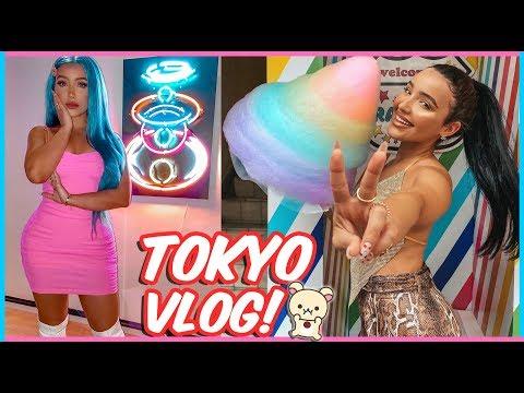 MY FIRST TIME IN TOKYO (vlog) | AMANDA ENSING thumbnail