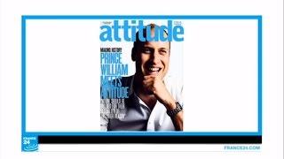 بريطانيا: الأمير ويليام يظهر على غلاف مجلة للمثليين