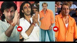 Sanju Real vs Reel   Sanju Official trailer Vs Real life Footage of Sanjay Dutt