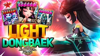 He Tries To Play with HOH DONGBAEK in Summoners War