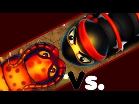 NINJA VS HACKER - Little Big Snake Best Trolling Pro Epic Littlebigsnake.io Gameplay!