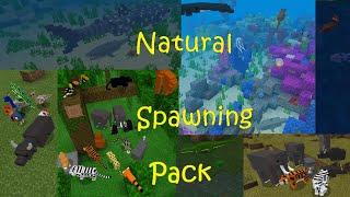 Natural Spawning Pack (for Minecraft Pocket Edition)
