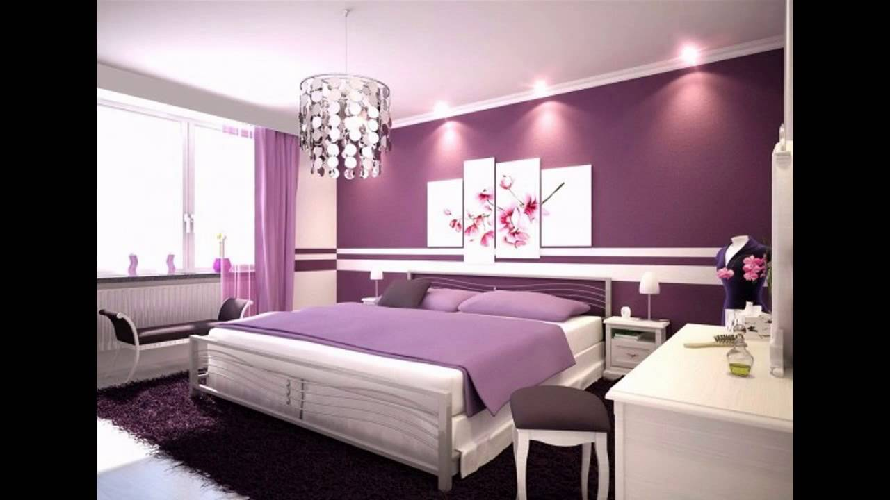Bedroom wall color ideas - YouTube