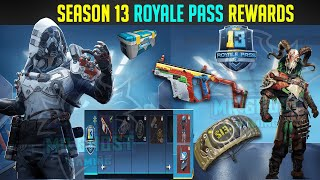 Season 13 Royale Pass Rewards Leaks, 100 RP Reward Pubg Mobile