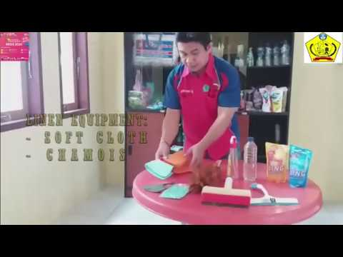Download VIDEO TUTORIAL CLEANING WINDOW GLASS [JEVERY PAAT, S.Pd - SMK NEGERI 2 TAHUNA]