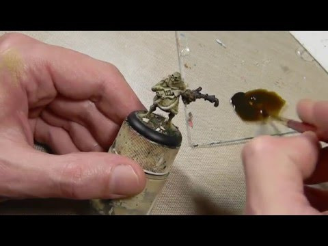 The Basics: Inks & Washes for Miniatures
