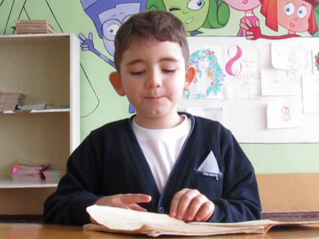 Изображение предпросмотра прочтения – АртёмКолоколов читает произведение «Птичка» В.А.Жуковского