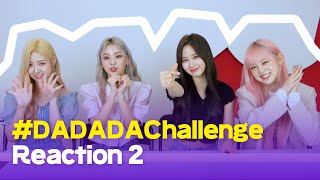 [LUNARSOLAR] 루나솔라 'DADADA' 챌린지 리액션 2🌙☀️ | LUNARSOLAR DADADA Challenge reaction 2