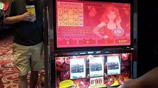 Tested our luck at Winstar World Casino $10 Red Ruby $5 Reel Fever It