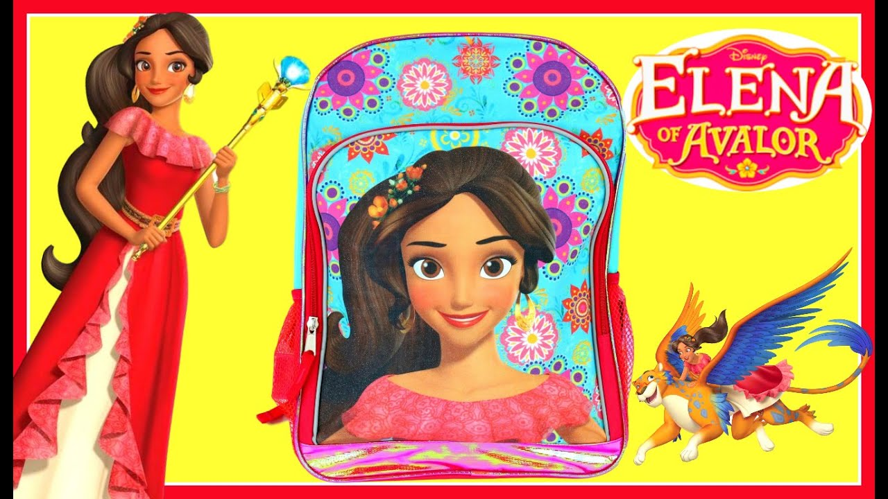 Elena Of Avalor Backpack Toy Surprise Blind Box Show