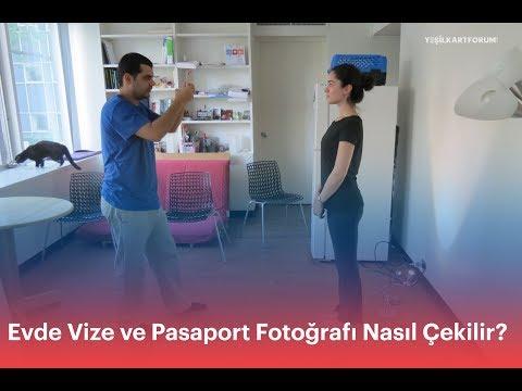 Evde Vize ve Pasaport Fotografi Nasil Cekilir?