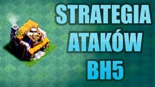 BUILDER HALL LEVEL 5 + STRATEGIA ATAKOWANIA! CLASH OF CLANS POLSKA
