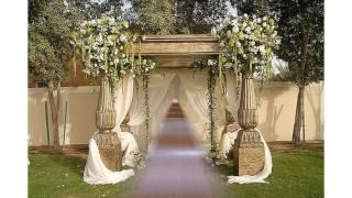 Ceremonia decoración ideas de la boda