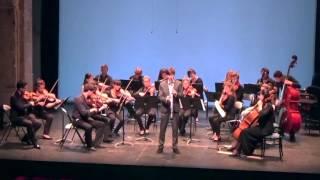 Mozart Clarinet Concerto, Rondo Allegro 3rd movement - Benjamin Christ, basset clarinet