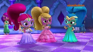 Shimmer & Shine | Le bal masqué | NICKELODEON JUNIOR