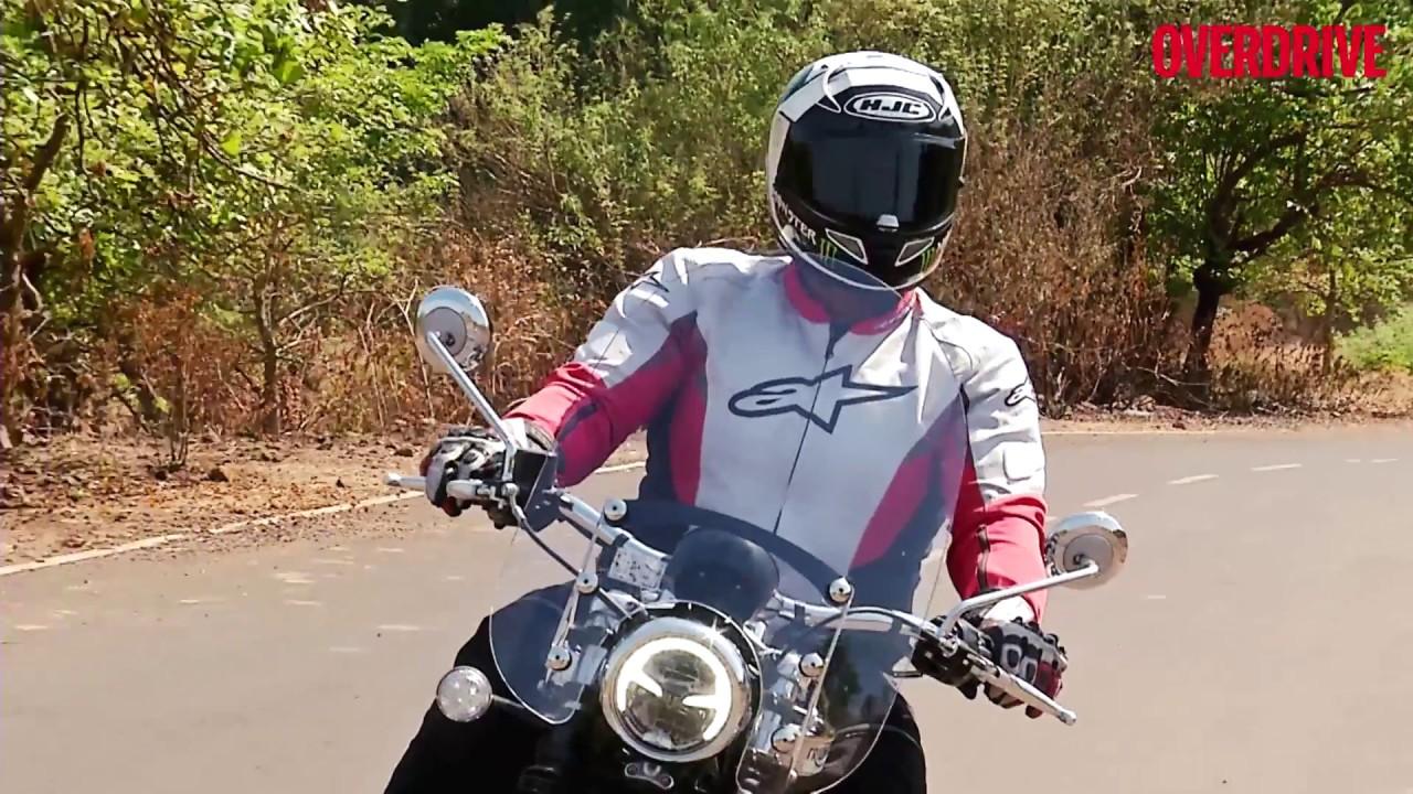 Triumph Bonneville Speedmaster Road Test Review Overdrive Youtube