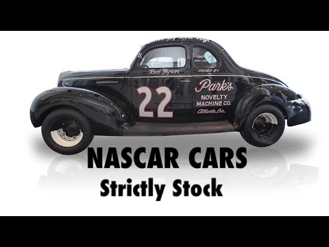 NASCAR Cars: Strictly Stock