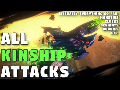 Monster Hunter Stories 2   ALL Kinship Attacks