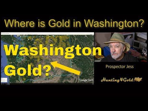 Where Can I Find Gold In Washington State?