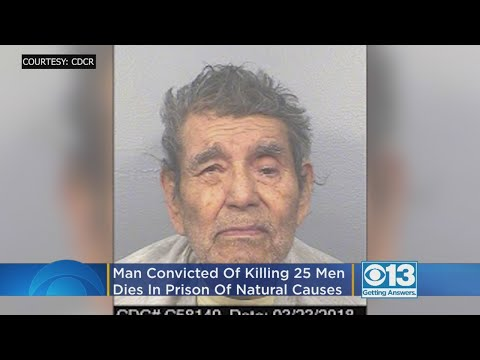 Man Convicted Of Killing 25 Men Dies In Prison Of Natural Causes