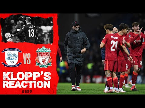 Klopp's Reaction: Jürgen on youngsters, Matip & Adrian | Preston vs Liverpool