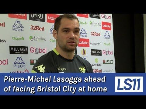 LS11 | Pierre-Michel Lasogga ahead of facing Bristol City at home