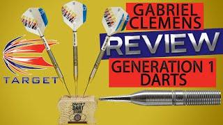 "Gabriel clemens ""generation one"" target steeldarts review | darts test & unboxing 🎯"