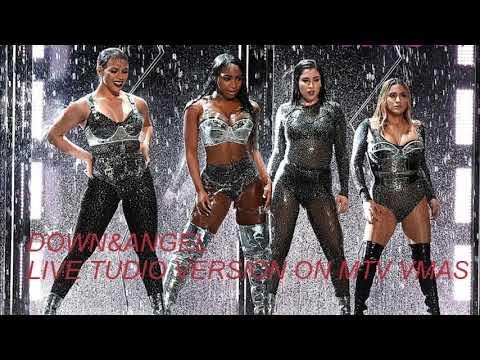 Fifth Harmony -Angel & Down feat (Gucci Mane) ~VMA's 2017 Live Studio Version~