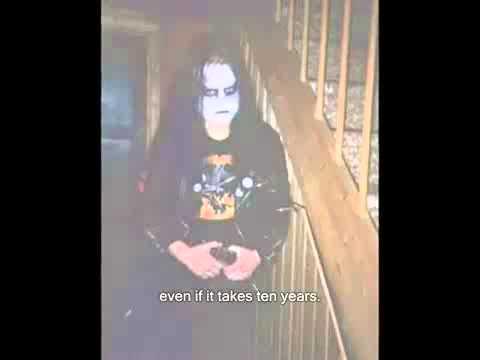 "Mayhem - Øystein ""Euronymous"" Aarseth Interview (1 of 2)"