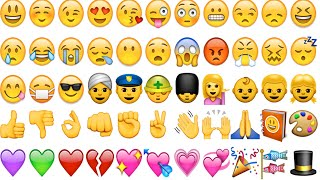 ALL Emojis! 😀👍