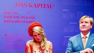 Koning Willem-Alexander, koningin Máxima en Karl Marx