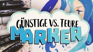 27€ Touchfive Marker vs. 120€ Copic Ciao Marker
