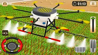 Drone Farming Simulator 2021 - Modern Farming Simulator - Android Gameplay