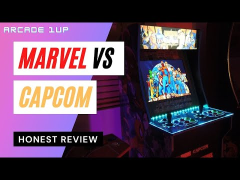 Arcade1up Marvel vs Capcom Honest Review from HappyFunnyGaming